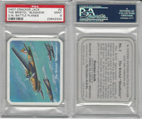 V407 Lowney, United Nations Battle Planes, 1940, #2 Bristol Blen, PSA 9 Mint
