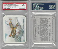 V407 Lowney, United Nations Battle Planes, 1940, #12 Lockh. Hudson, PSA 9 Mint