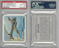 V407 Lowney, United Nations Battle Planes, 1940, #13 Whitley, PSA 8 NMMT