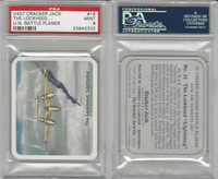V407 Lowney, United Nations Battle Planes, 1940, #15 Lockheed Light, PSA 9 Mint