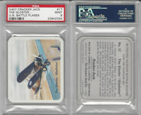 V407 Lowney, United Nations Battle Planes, 1940, #17 Gladiator, PSA 9 Mint