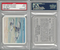 V407 Lowney, United Nations Battle Planes, 1940, #19 Saro London, PSA 9 Mint