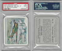 V407 Lowney, United Nations Battle Planes, 1940, #21 Douglas DB8A5, PSA 9 Mint
