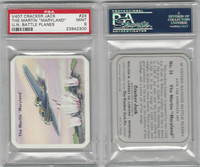 V407 Lowney, United Nations Battle Planes, 1940, #24 Martin Maryland, PSA 9 Mint
