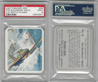 V407 Lowney, United Nations Battle Planes, 1940, #26 Blackburn, PSA 9 Mint