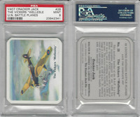 V407 Lowney, United Nations Battle Planes, 1940, #28 Wllesley, PSA 9 Mint