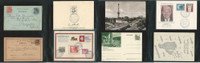 Germany Cover Lot AH, Berlin, Eisenhower, Dresden, DKZ