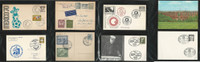 Germany Cover Lot AI, Netherlands Antilles Soccer, Zeppelin, Luftpost, DKZ