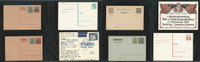 Germany Cover Lot AM, Postal Cards, Bavaria, Luftpost, DKZ