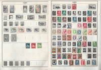 Algeria, Angola, Egypt, Africa+ Stamp Collection on 40 Harris Pages, JFZ