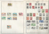 British Colonies Stamp Collection on 20 Harris Pages, Barbados, Bermuda+, JFZ