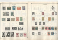 Bulgaria Stamp Collection on 60 Scott International Pages to 1972, JFZ