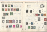 Chile Stamp Collection on 20 Scott International Pages to 1972, JFZ