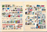 Germany Unsorted Stamp Collection on 15 Stock Pages, DKZ