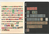 Germany Unsorted Stamp Collection on 12 Stock Pages, DKZ