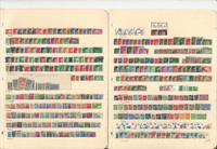 Germany Unsorted Stamp Collection on 22 Stock Pages, DKZ