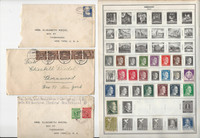 Germany Stamp Collection on 20 Harris Pages, To 1970, JFZ