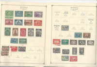 Honduras Stamp Collection on 50 Scott International Pages 1941-2010, JFZ