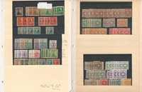 Germany Russian Zone Stamp Collection, World War II Era Lot, 6 Pages, JFZ