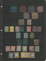 Germany Stamp Collection, Revenues & Bavaria Lot on Stock Page, JFZ