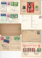 Germany Stamp Collection, Cards & Covers, 90 Different, JFZ