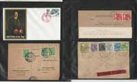 Germany Stamp Collection, Covers, 32 Different, JFZ