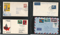 Germany Stamp Collection, Covers, 44 Different, JFZ