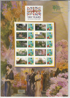 Great Britain Stamp Collection, Chelsea flower Show, 2006-2013, JFZ