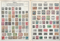 Hungary Stamp Collection on 50 Harris Pages, 1871-1969, JFZ