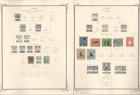 Tonga Stamp Collection 1886-1971 on 38 Scott Specialty Pages, JFZ
