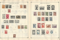 Argentina, Belize, Bolivia Stamp Collection on 70 Scott International Pages, JFZ