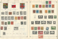 Canada to 1986 Stamp Collection on 35 Scott International Pages, JFZ