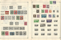 Canal Zone to 1968 Stamp Collection on 13 Scott International Pages, JFZ