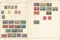 Bosnia & Burma to 1975 Stamp Collection on 20 Scott International Pages, JFZ