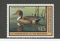 United States Postage Stamp, #RW68 Mint NH Duck Hunting, 2001, JFZ