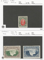 Southern Rhodesia Postage Stamp, #24, 31-32 Mint Hinged, 1932-34, JFZ