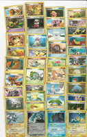 1999-2006 Pokemon, Lot of 55 Cards, 14 Holographic, 3 Rare