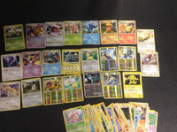 2009-2010 Pokemon, Lot of 76 Cards, 2 X, 16 Holographic, 5 Rare
