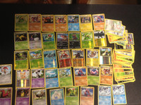 2011 Pokemon, Lot of 89 Cards,  22 Holographic, 15 Rare