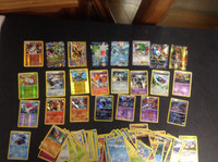2015 Pokemon, Lot of 93 Cards, 1 Break, 6 Ex, 10 Holographic, 8 Rare
