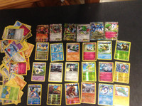 2015 Pokemon, Lot of 102 Cards, 6 Ex, 13 Holographic, 5 Rare