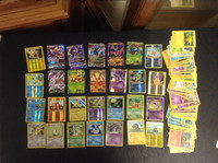 2016 Pokemon, Lot of 88 Cards, 2 Gx, 7 Ex, 11 Holographic, 8 Rare