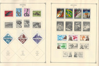 Rwanda Africa+ Stamp Collection to 1986 on 200 Scott International Pages, JFZ