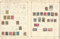 Thailand Stamp Collection to 1986 on 30 Scott International Pages, JFZ