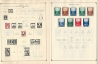 Vatican City Stamp Collection to 1986 on 30 Scott International Pages, JFZ