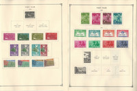Vietnam Stamp Collection to 1975 on 20 Scott International Pages, JFZ