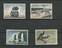 United States, Postage Stamp, #RW26//RW35 Duck Stamps, 1959-68, JFZ