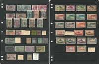 French Colonies Stamp Collection, Beautiful Lot on 13 Stock Pages, JFZ
