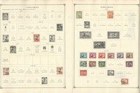 French Indo-China+ Stamp Collection to 1986 on 40 Scott International Pgs, JFZ