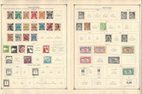 French P-S Colonies Stamp Collection to 1986 on 35 Scott International Pgs, JFZ